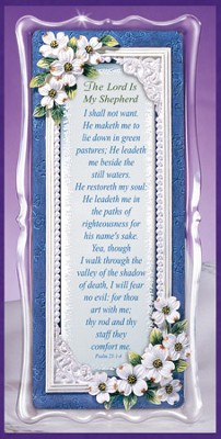 Lord Is My Shepherd Framed Sentiment  -
