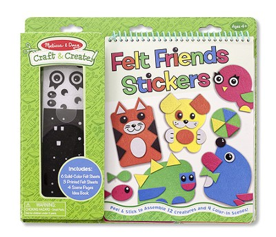 Craft and Create, Felt Friends  -
