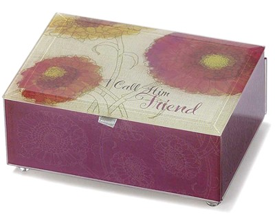 I Call Him Friend Musical Keepsake Box  -