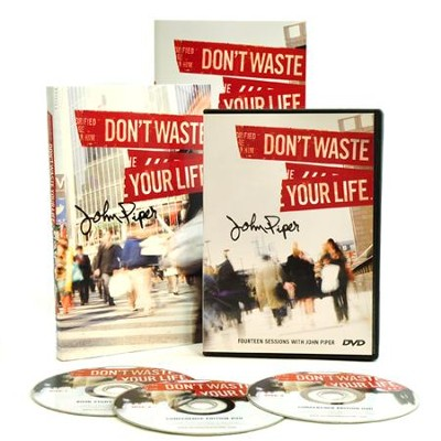 Don't Waste Your Life Group Study Kit  -     By: John Piper