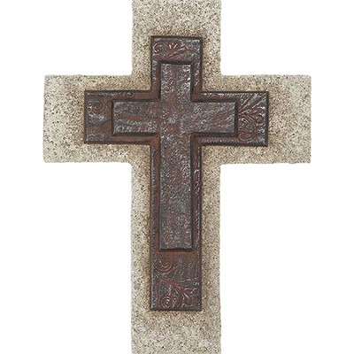 Double Cross On Cross, Wall Cross  -