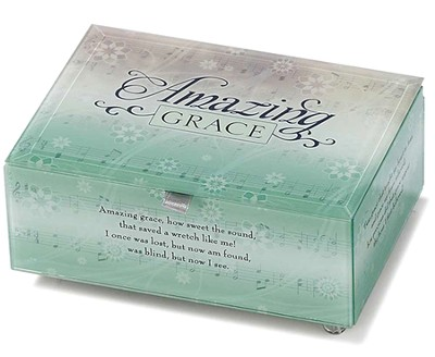 Amazing Grace Musical Keepsake Box  -