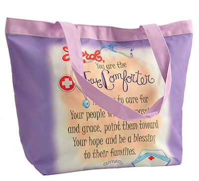 Lord, You Are the True Comforter Tote Bag  -