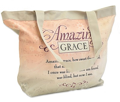Amazing Grace Tote Bag  -