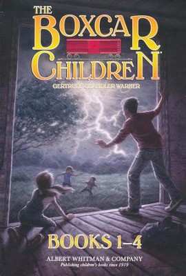 The Boxcar Children Mysteries Boxed Set #1-4 - Slightly Imperfect  -