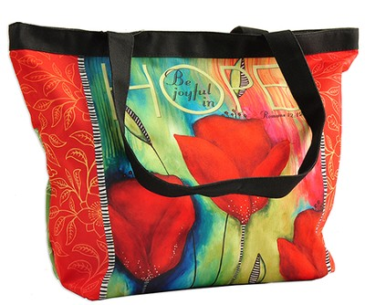 Be Joyful In Hope Tote Bag  -