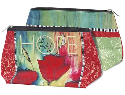 Be Joyful In Hope Cosmetic Bag  -