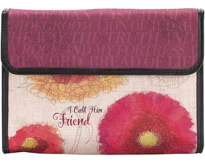 I Call Him Friend Bible Clutch  -