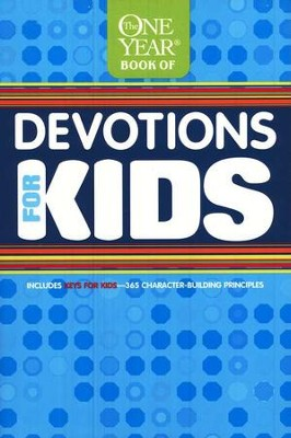 The One Year Book of Devotions for Kids #1   -