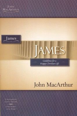 James, John MacArthur Study Guides   - Slightly Imperfect  -