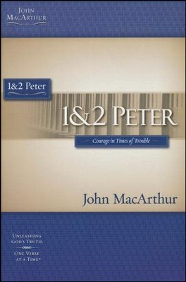 1 & 2 Peter, John MacArthur Study Guides   - Slightly Imperfect  -