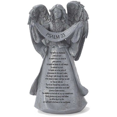 Psalm 23 Angel Figurine  -