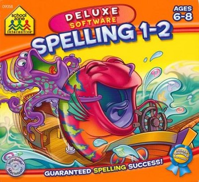 Mighty Mini Software: Spelling 1-2 Deluxe Edition CD-Rom  -