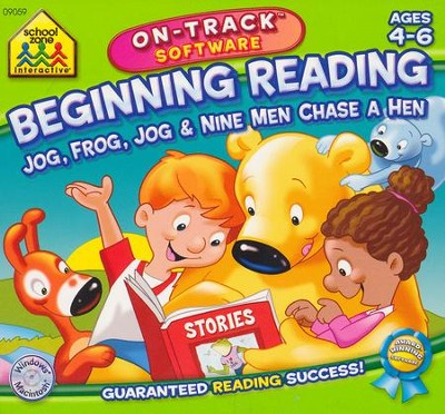 Beginning Reading On-Track Software CD-Rom  -