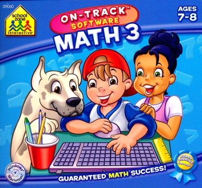 Math 3 On-Track Software CD-Rom  -