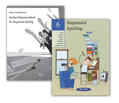 Sequential Spelling Book 6 & Student Response Book  -     By: Don McCabe