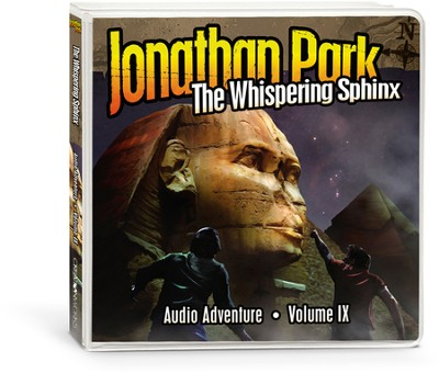 Jonathan Park #9: The Whispering Sphinx, Audio CDs  -     By: Pat Roy