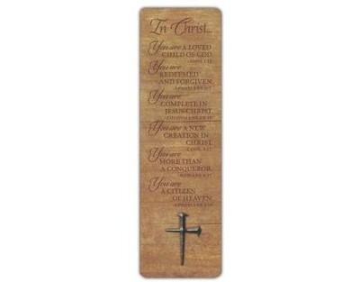 Nail Cross Bookmark     -