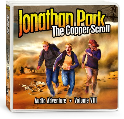 Jonathan Park #8: The Copper Scroll Audio CDs  -