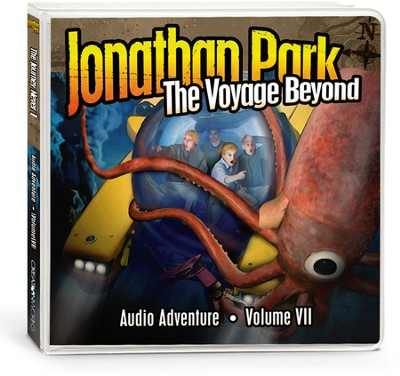 Jonathan Park Creation Adventure Audio Series #7: The Voyage  Beyond (4 CDs)  -