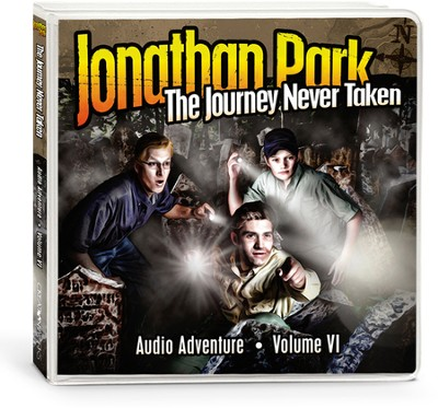 Jonathan Park #6: The Journey Never Taken Audio CDs  -