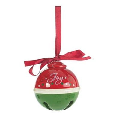 Joy, Bell Ornament  -