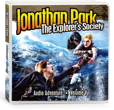 Jonathan Park Volume 5: The Explorer's Society, Audio CDs  -