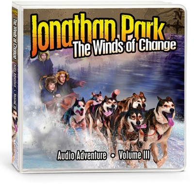 Jonathan Park Volume 3: The Winds of Change, Audio CDs  -