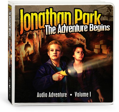 Jonathan Park #1: The Adventure Begins (4 CDs)  -
