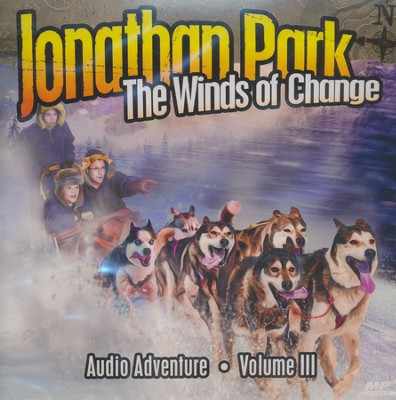 Jonathan Park #3: The Winds of Change MP3 Audio CD  -     By: Pat Roy
