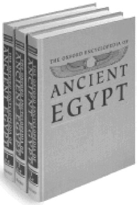 The Oxford Encyclopedia of Ancient Egypt, 3-Volume Set   -     Edited By: Donald B. Redford     By: Donald B. Redford, ed.