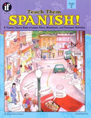Teach Them Spanish, Grade 2   -