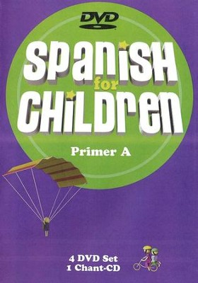 Spanish for Children Primer A DVD Set   -     By: Julia Kraut