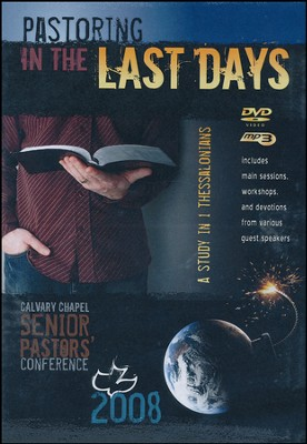 2008 Calvary Chapel Senior Pastors Conference DVD with MP3  -     By: Chuck Smith