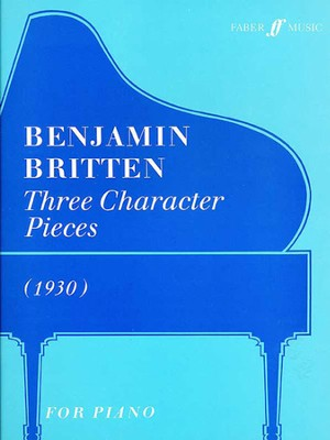 3 Character Pieces  -     By: Benjamin Britten