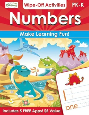 Numbers Wipe-Off Activities: Make Learning Fun!  -     By: Alex A. Lluch