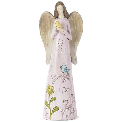 Angel with Bird Figure  -