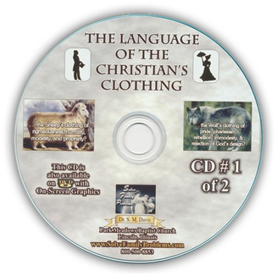The Language of the Christians Clothing Audio CD  -     By: Dr. S.M. Davis