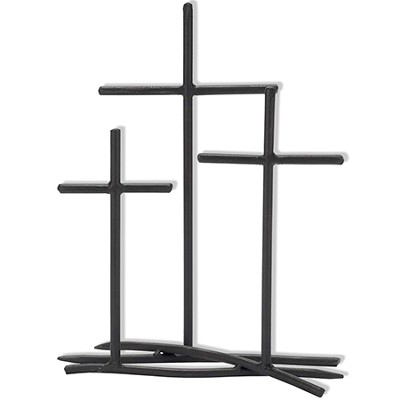 3 Crosses Tabletop Cross  -