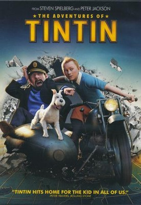 The Adventures of Tintin, DVD   -