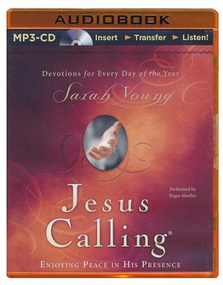 Jesus Calling, Unabridged MP3-CD   -     Narrated By: Roger Mueller     By: Sarah Young