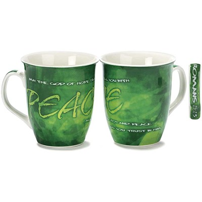 Peace, May the God of Hope Mug  -