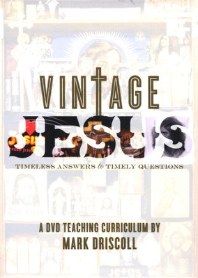 Vintage Jesus: DVD Teaching Curriculum  -     By: Mark Driscoll