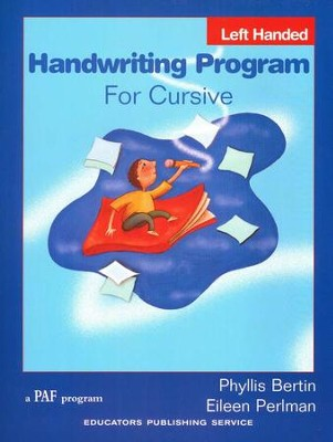 Handwriting Program for Cursive (left-handed)   -     By: Phyllis Bertin, Eileen Perlman