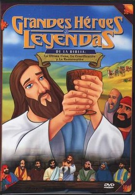 La Ultima Cena, Grandes H&#233roes y Leyendas de la Biblia  (Last Supper, Great Heroes and Legends of the Bible), DVD  -