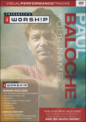 Your Name   -     By: Paul Baloche