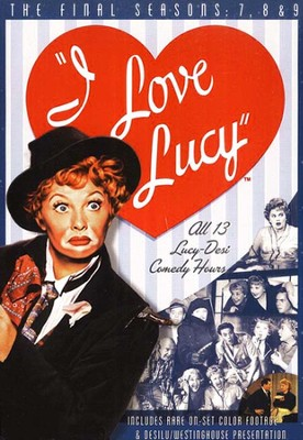 I Love Lucy, Seasons 7-9 DVD Set   -