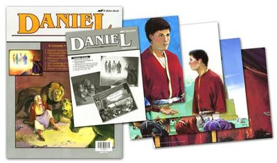 Daniel Flash-a-Card Set (for use with Giants of Faith Middler Grades 3-4 Sunday School Curriculum)  -