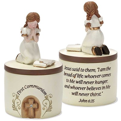 First Communion Keepsake Box, Girl  -
