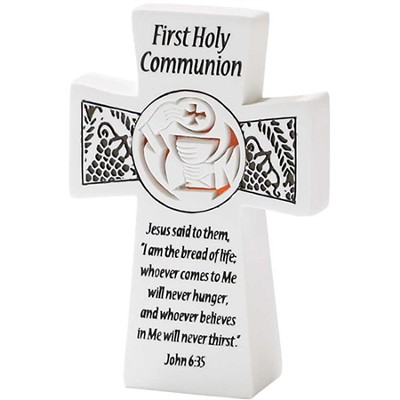 First Holy Communion Tabletop Cross  -